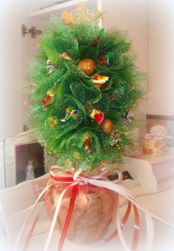 Мастер-класс Новогодняя елка из конфет