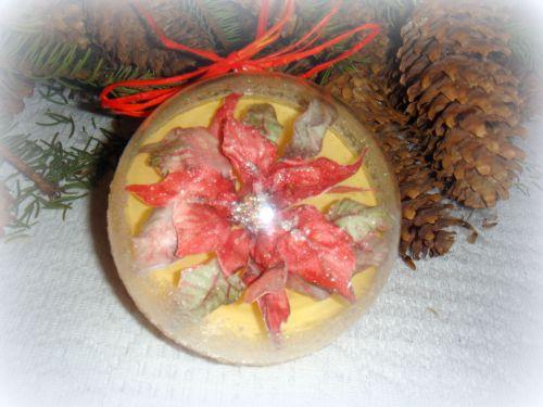 Мастер-класс Новогодние шары в Соспесто Транспаренте