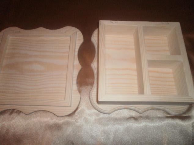 Мастер класс шкатулка швейная машинка этап 1