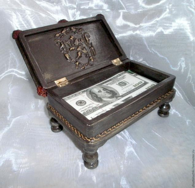 Мастер класс шкатулка бильярдный стол этап 12