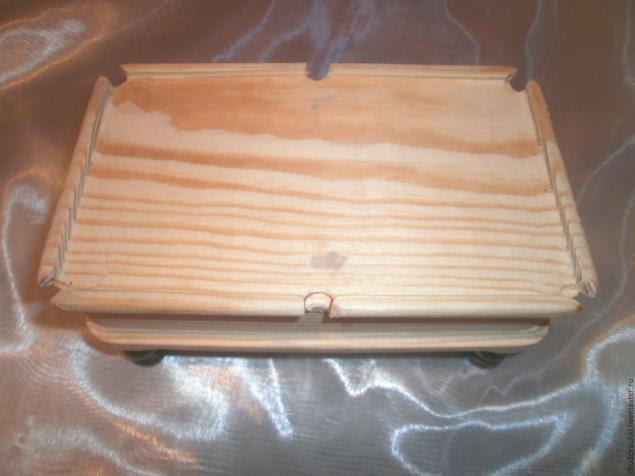 Мастер класс шкатулка бильярдный стол этап 2
